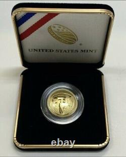 2019 W Apollo 11 50th Anniversary Proof $5 Gold Coin West Point Us Mint New 19ca