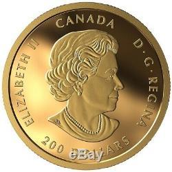 2020 $ 200 Dollar Paix Pur Gold Coin