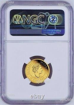 2020 Australie Kangaroo Proof 1/4oz. 9999 Gold 25 $ Ngc Pf70 Pièce Fr