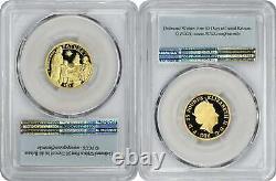 2020 Mayflower 400th Anniversary 2-coin Gold Proof Set Pr70dcam Fs Pcgs