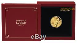 2020 P Australie Proof Gold 15 $ Année Lunaire De La Souris Ngc Pf70 1/10 Oz Coin Fr