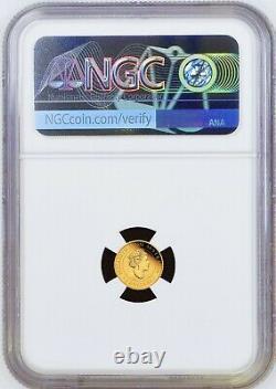 2021 Australie Mini Roo Kangaroo Proof 9999 Gold 0,5g $2 Ngc Pf70 Coin Fr