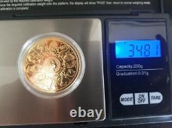 2021 Queen's Beasts Completer 1oz Gold Coin Série Entière De Bêtes Griffin, Yale
