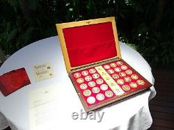 Africana Commemorative Mint Gold Plaqué Sterling Silver Cape Coin Heritage Set Africana Commemorative Mint Gold Plaqué Sterling Silver Cape Coin Heritage Set Africana Commemorative Mint Gold Plaqué Sterling Silver Cape Coin Heritage Set Africana