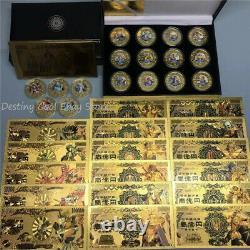 Anime Japan Saint Seiya Gold Yen Billet De Billet Commémoratif De Billets De Banque