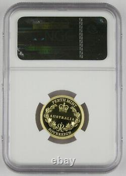 Australie 2013 One Sovereign 25 $ Gold Proof Coin Ngc Pf70 Ultra Cameo Perth Mint