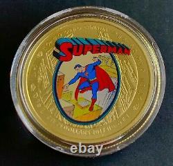 Canada 2013 75 $ Pièce D'or Superman Rare Les Premières Années Rcm