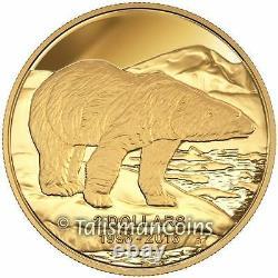 Canada 2016 Toonies 20 Ann. 4 Coin Gold & Platinum 2 Toonie Set $ 40 Billets De Banque
