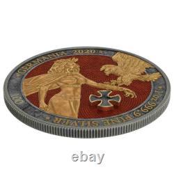 Germania 2020 5 Mark Gold Cross 1 Oz 999 Pièce D'argent