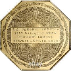 Humbert 2008 2,5 Oz California Gold Commemorative 50 $ Ngc Gem Proof Ultra Cameo