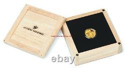 John Wayne 1/4 Oz Gold Coin Proof Tuvalu 2019 Premier Jour D'émission Mintage 1000