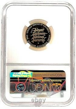 Ngc Pf 64 Ultra Cameo 1991-w Us Gold $5 Mount Rushmore Pièce De Preuve Commémorative