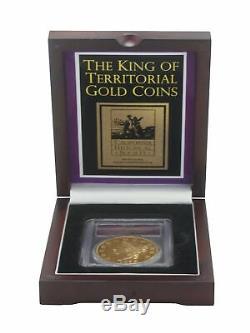 Pcgs 1855 Kellogg 50 $ Preuve Commémorative Gem Rallumage S. S. Amérique Centrale Coin