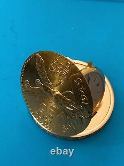 Piaget & Co. Watch/gold Coin Commémoration Mexicaine (522)