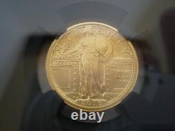 Pièce De Monnaie 2016-w 3 Pièces D'or Centenaires Ngc Sp70 Premières Sorties 100e Anniversaire