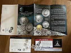 Pop-30 2019 $5 Gold Pr70 Pcgs Coin Apollo 11 Pcgs Commémoratif Fdoi Fred Haise