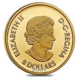 Prix De Vente 2021 Canada 1/20 Oz Triumphant Dragon Proof Gold Coin. 9999 Amende