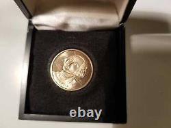Rare 1776-1976 Bicentenaire. 500 Or Fin George Washington Pièce Commémorative