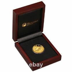 Retour Vers Le Futur 2015 1/4 Oz Gold Proof Coin 99,99% Pure Gold Limited Mintage
