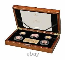 The 2021 Royaume-uni Gold Proof Commemorative Coin Set Limited Mintage 95
