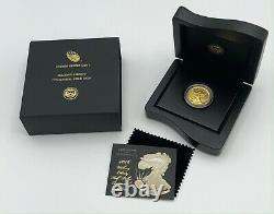 U. S. Mint 2016 Walking Liberty 1/2 Oz. 9999 Gold Centennial Coin