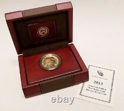 Us 2013 American Buffalo 1oz Gold Inverse Proof 50 $ Pièce B213