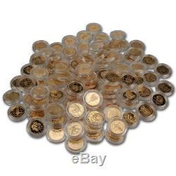 Us Gold $ 5 Pièces Commémoratives (. 24187 Oz) Aléatoire Date